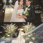 元「Wonder Girls」ヘリム&シン・ミンチョル、結婚式の写真を公開