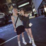 """ヒョナ&DAWN、カップルスニーカーで深夜デート…""""画報のよう"""""""
