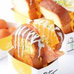 韓国NO.1フレッシュジュースブランドJUICYフードメニューに韓国で大人気のふわふわのスクランブルエッグトーストが新登場!