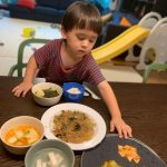 """ベントレーくん、トンチミ(大根の水キムチ)は基本...キムチマニアの食卓""""ご飯2杯食べます"""""""
