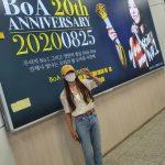 """BoA、ファンたちのデビュー20周年のお祝い電光掲示板に感動""""ありがとう..最高だ"""""""