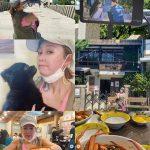 女優イ・サンア、「椿の花咲く頃」のロケ地を旅行中=チャンポン店は「あんまり…」と酷評?