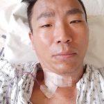 肺がん闘病中のキム・チョルミン、「5番頸椎入れ替え手術の成功、必ず乗り越える」