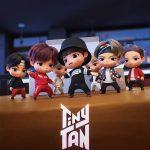 「BTS(防弾少年団)」のキャラクター「TinyTAN」登場…7人のメンバーそっくり