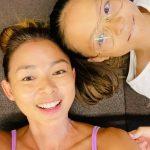 <トレンドブログ>サランちゃん、ママSHIHOに似た驚くべき身体比率…家族みんなで運動中