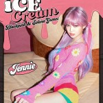 "「BLACKPINK」JENNIE、「""Selpink""coming soon!」と新曲「Ice Cream」に期待示す…個人ポスターも公開"