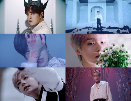 「ONEUS」レイブンXファンウン、新曲「TO BE OR NOT TO BE」コンセプトフィルムを公開