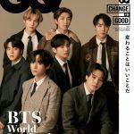 【情報】BTS(防弾少年団)が表紙を飾る『GQ JAPAN』10月号、世界21カ国/地域の『GQ』が共同宣言「CHANGE IS GOOD」を発表