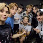 """BTS(防弾少年団)ジミン、リーダーRMの誕生日を祝う…""""うちのナムジュン、誕生日おめでとう"""""""