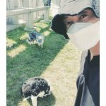キム・ヒョンジュン(リダ)、愛犬と共に余裕のある週末