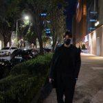 俳優イ・ミンホ、真夜中の歩道もランウェイにするビジュアル…「皇帝の威厳」