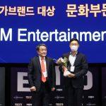 【公式】SMエンタ、「2020国家ブランド大賞」の「文化企業部門」受賞