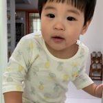 チャン・シニョン、可愛い末の息子を自慢…ママとパパのいいとこどり