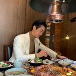 """俳優ナムグン・ミン、とても高級な韓牛のモクパン""""韓牛たくさん愛してください"""""""
