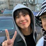 【トピック】俳優コ・ギョンピョ、パク・ボゴムの入隊を応援