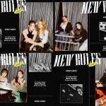 """グループ「Weki Meki」、新アルバム「NEW RULES」のコンセプトフォトを公開…""""ウーバーガール""""に変身"""
