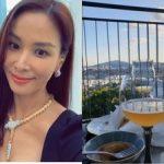 コ・ソヨン、夫チャン・ドンゴン とデート?…シティビューを見ながら外食認証