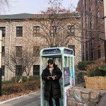 """<トレンドブログ>俳優チュウォン、ベンチコートで優れた長身スタイル誇る!…""""時間旅行一緒にしましょう~"""""""