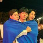 クォン・ヒョンビン(VIINI)&イ・ジョンシン(CNBLUE)&俳優イ・ジョンシク、ここがイケメングルメ店!?
