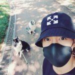 キム・ヒョンジュン(リダ)、愛犬と過ごす秋の週末
