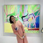女優チョン・ヘビン、展覧会デートを公開「夫から絵画の誕生日プレゼント」