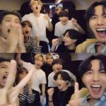"""BTS(防弾少年団)、米ビルボード「ホット100」2週連続1位後の歓声…""""うわ!1位""""(動画あり)"""