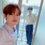 「NCT」チョンロ&ジョンウ、ぎこちないけれど大丈夫なイケメンたちのツーショット!!