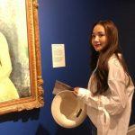 女優パク・ミニョン、下衣失踪+白いワイシャツファッションで清純セクシー