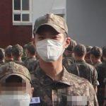 「海軍入隊」パク・ボゴム、訓練所写真公開… 凛とした軍服姿