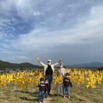 """<トレンドブログ>俳優ユン・サンヒョン&Maybee夫妻、3兄妹と外出""""あなた! 幸福の完成は家族であるようだ"""""""