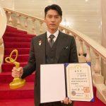 ヒョンビン、輝くビジュアルと存在感…「2020 大韓民国大衆文化芸術賞」大統領表彰受賞のあいさつ