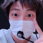 BTS(防弾少年団)RM &ジン、ラフな服装と素顔が初々しい…明日に迫ったオンラインコンサートに対する期待を示す