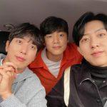 「CNBLUE」イ・ジョンシン、ジョン・ヨンファ&カン・ミンヒョクとスリーショット見るだけで幸せ!