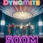BTS(防弾少年団)、「Dynamite」MVが再生回数5億回突破…通算10回目の記録
