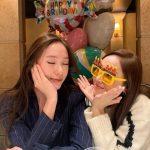 クリスタル(元f(X))、いつのまにか26歳の誕生日...姉ジェシカ(元少女時代)とお祝い