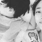 女優キム・ヒョジン、おとなしい次男に母性愛爆発…「ゆっくり大きくなったら」