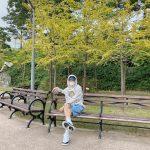 <トレンドブログ>俳優リュ・ジュンヨル、パーカーのラフな姿で秋の装い