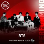「BTS (防弾少年団)」、米2020 American Music Awardsで新アルバム「BE」タイトル曲を初公開