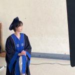 女優パク・ギュヨン、延世大卒業写真撮影「今学期の終わりに卒業」