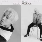 パク・ジフン(元Wanna One)、1stフルアルバム「MESSAGE」コンセプトプレビューポスター公開…白黒を通り越したビジュアル