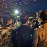 """<トレンドブログ>「少女時代」ユリ、テヨン+ユナと「東方神起」チャンミンの結婚式で?""""並んで並んで"""""""