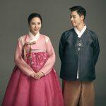 KangNam&イ・サンファ夫妻、韓服を着て秋夕あいさつ