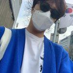 俳優チョン・イル、マスク+サングラスでも遮られないイケメンさ