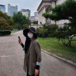 女優イム・スジョン、帽子とマスクで綺麗な顔を隠して散歩…「気分良くなりました」