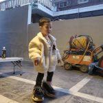 <トレンドブログ>「FTISLAND」チェ・ミンファン♥ユルヒの息子ジェユルくん、パパのスニーカーはいてかわいいポーズ