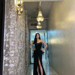 <トレンドブログ>キム・サラン、ブラックドレスでから見せる脚線美で見事なターン(動画)
