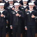 パク・ボゴム、 本日(8日) 海軍兵修了式に参加 …6週間の基礎訓練終了