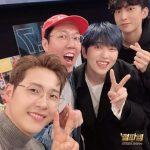 B1A4、ラジオ番組出演記念写真…