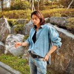 <トレンドブログ>俳優キム・ジフン、漫画から飛び出してきたようなビジュアルで、デニムコーデ完璧な着こなし