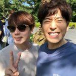 <トレンドブログ>「SHINHWA(神話)」エリック、ドラマの撮影現場に遊びに来たアンディとカシャッ